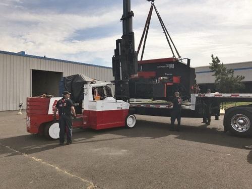 Machinery moving company