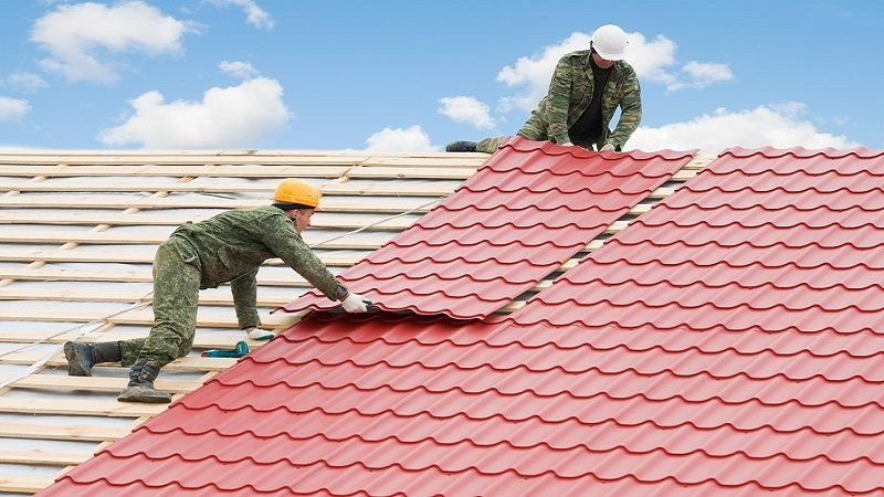commercial roofing services in Marysville